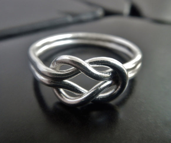 Large Sterling Silver Celtic Knot Ring
