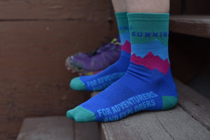 Run for the Mountains Socks
