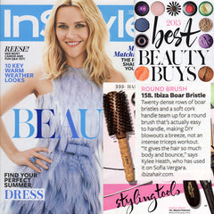 Ibiza Hair Press Coverage InStyle Magazine