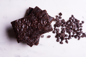 Signature Chocolate Brownies - Vegan, Gluten, Dairy & Soya Free