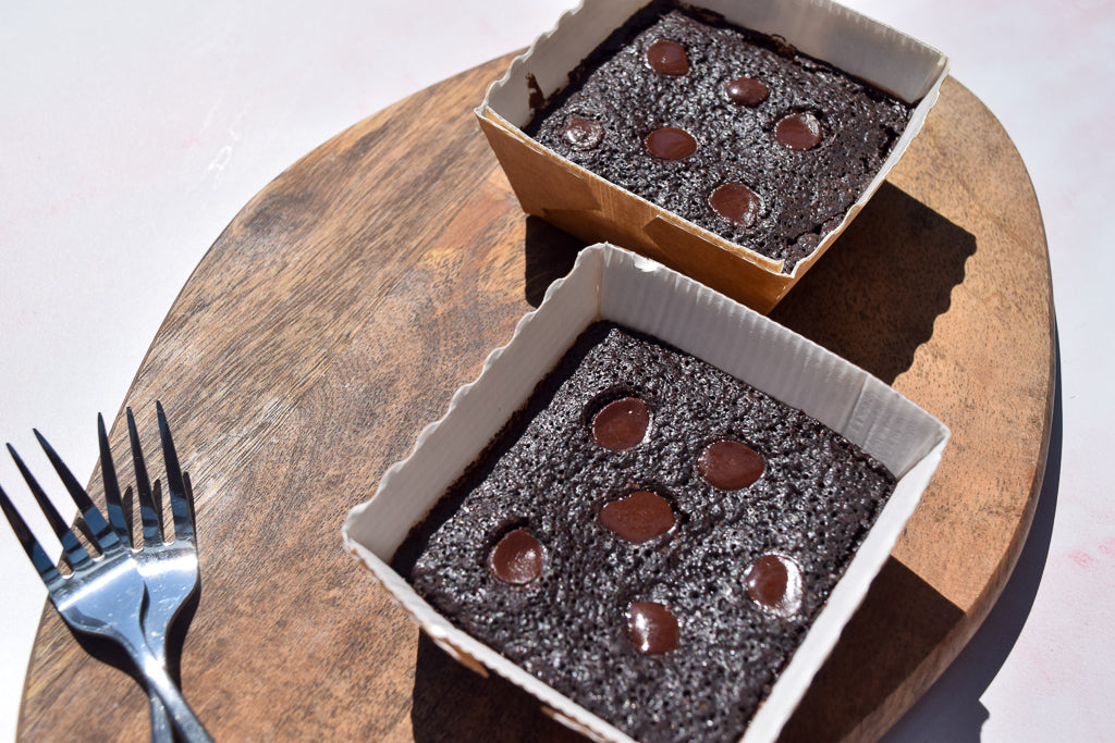 Signature Chocolate Brownie Bites - Vegan, Gluten, Dairy & Soya Free