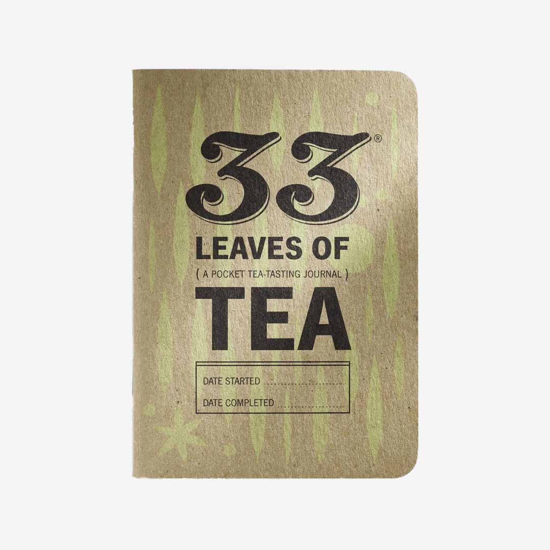 Buch Teejournal 33 Leaves of Tea