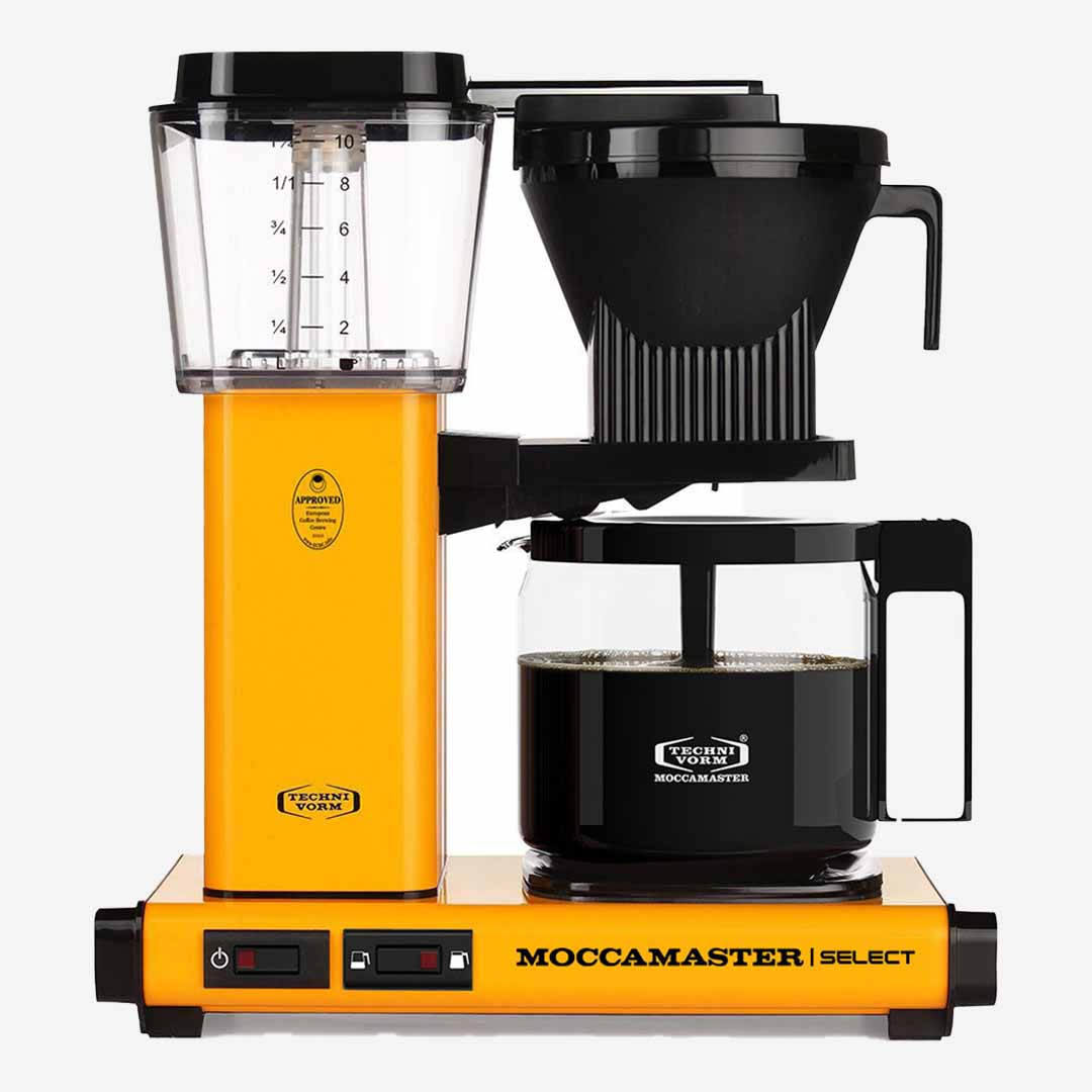 Moccamaster Kaffeemaschine KBG Select Yellow Pepper