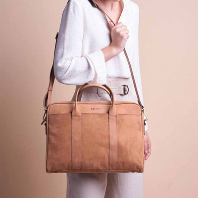 O My Bag, Laptoptasche Modern, Harvey Camel 15 Zoll