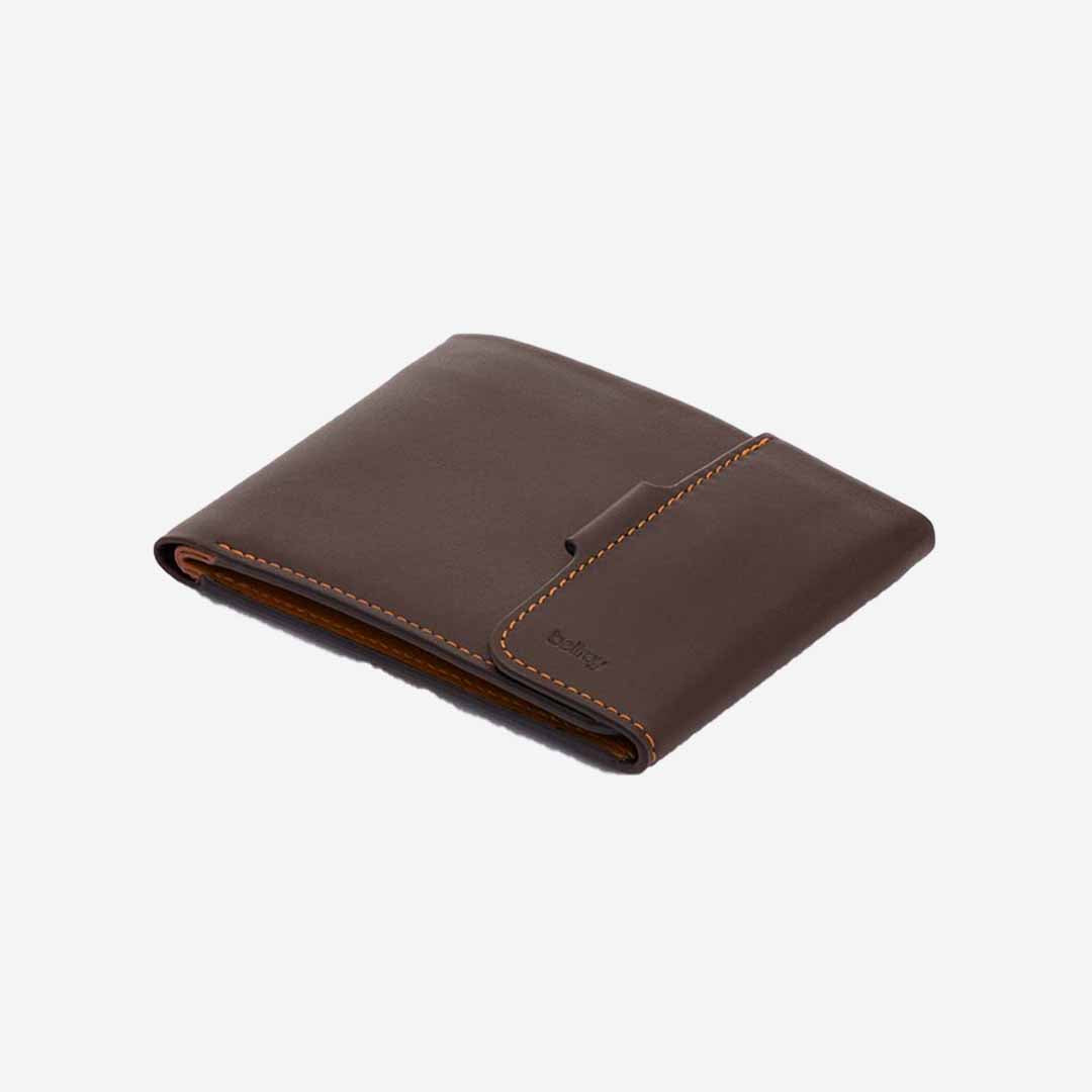 Bellroy Key Cover Leder, Caramel