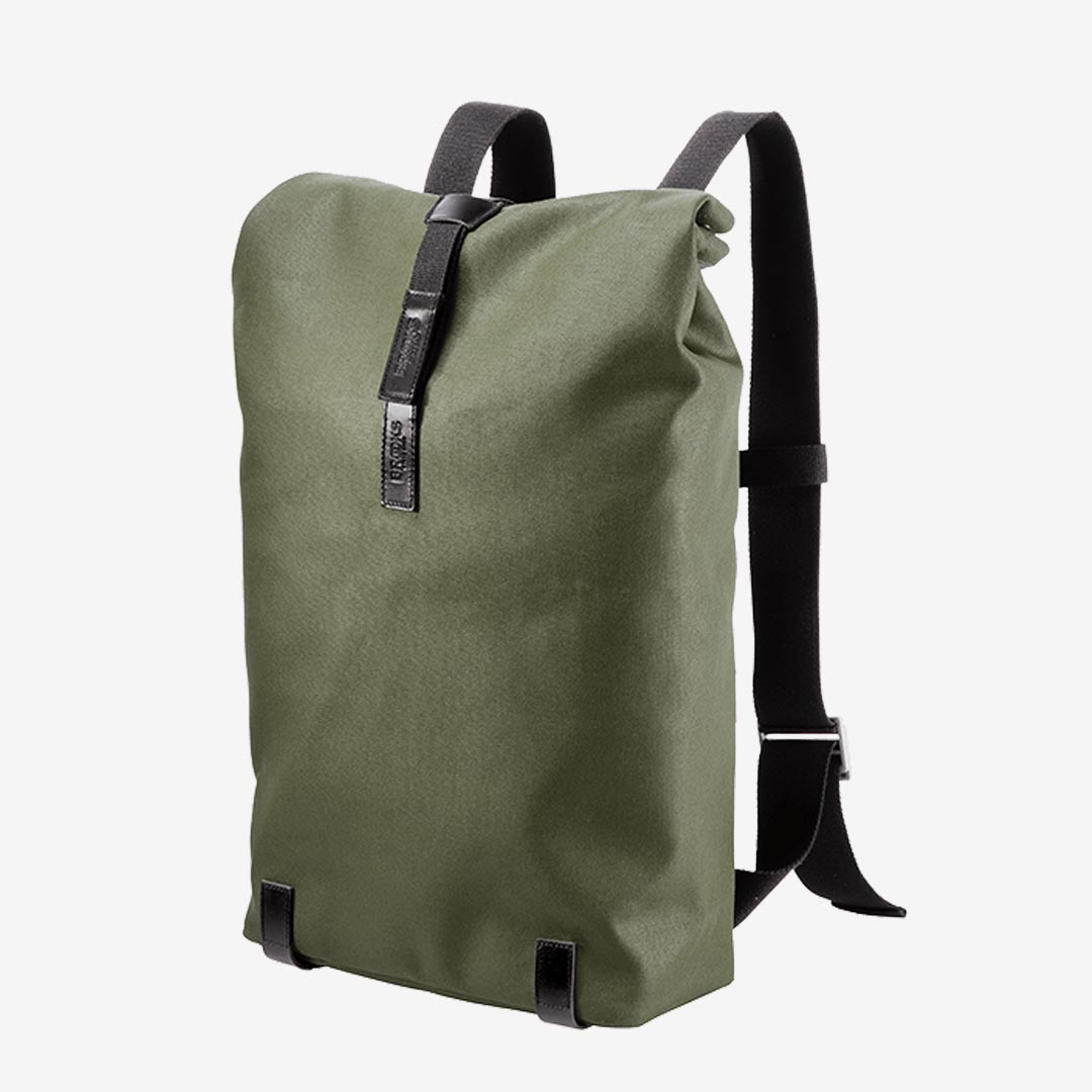 Brooks England Pickwick Canvas Rucksack 26 Liter forest