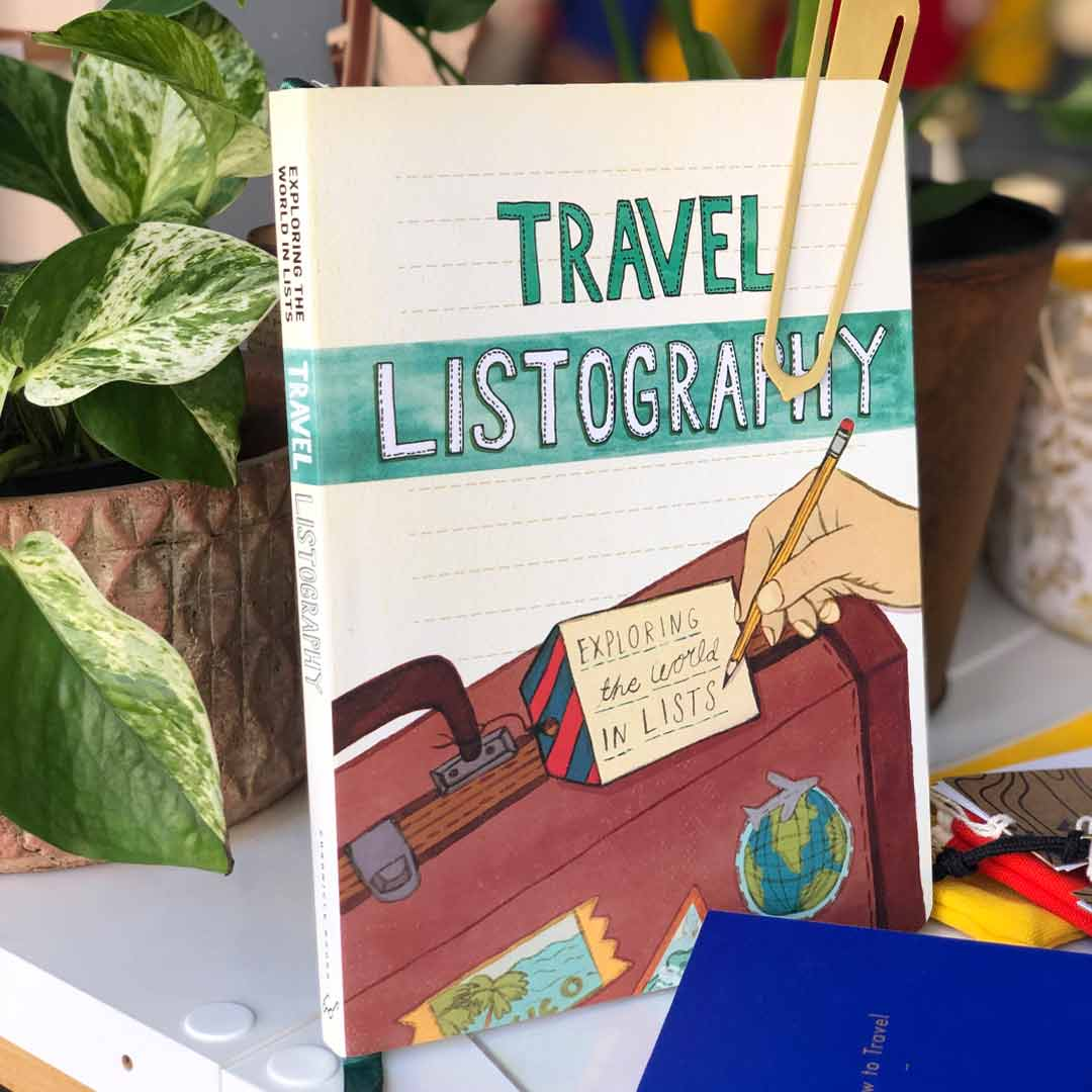 Buch, Reisen, Travel Listography