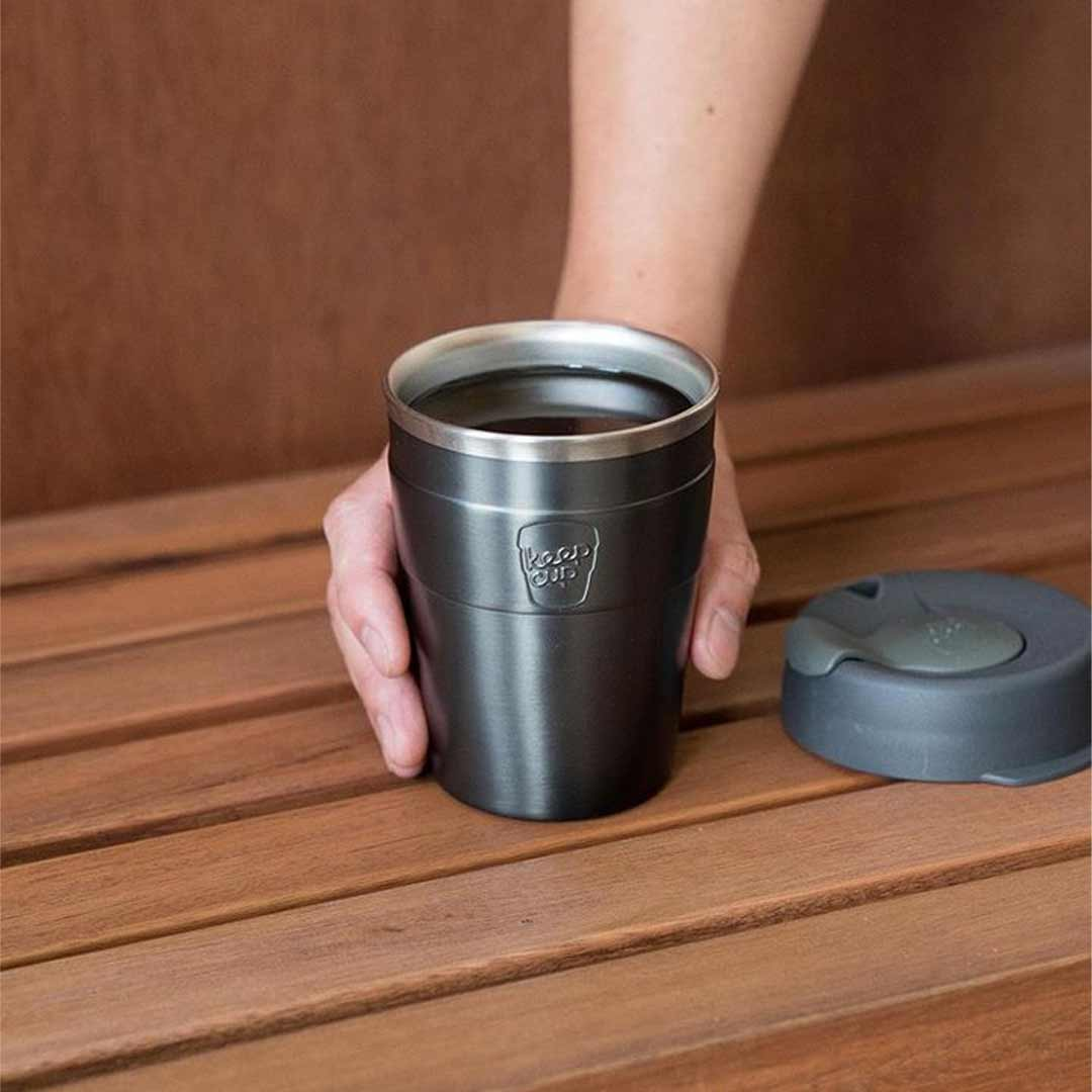 KeepCup, Thermal Black – medium
