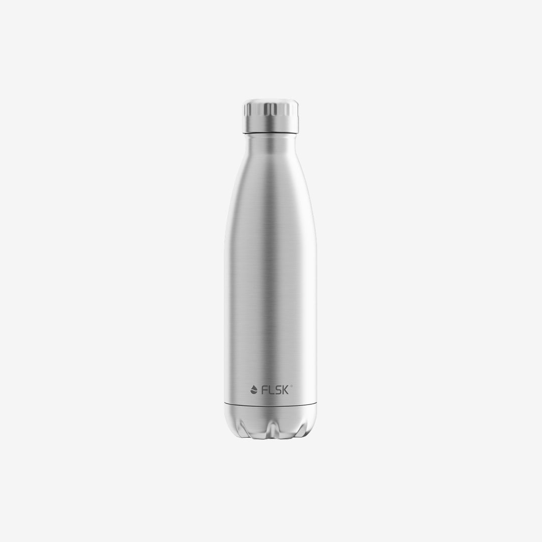 FLSK Thermoflasche, silber, stainless, 500 ml