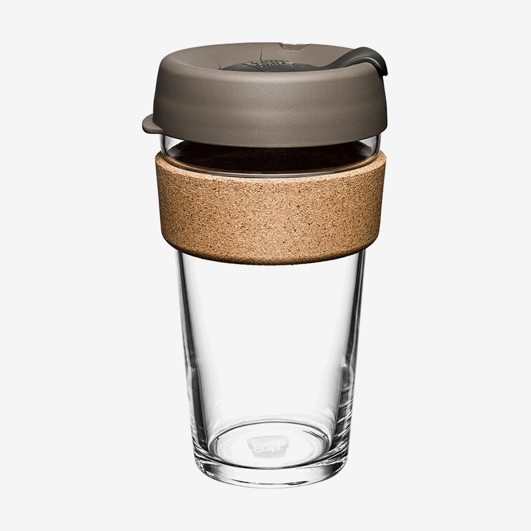 KeepCup Kaffeebecher Cork, latte, large