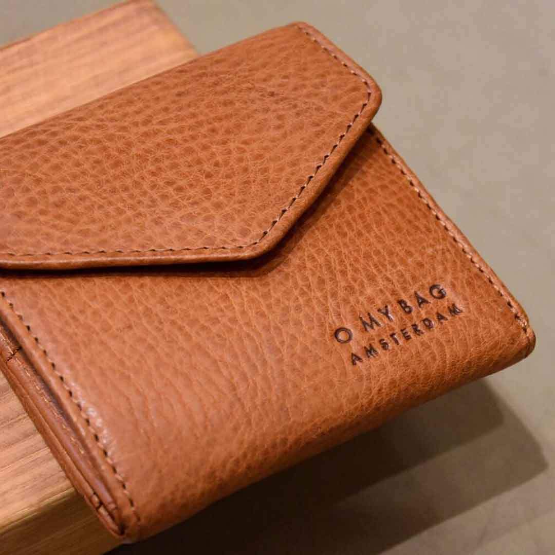 O MY BAG Georgies Wallet, cognac