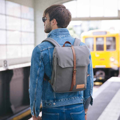 Property of Rucksack, Charlie 12H Travel Backpack, moss grey, grau