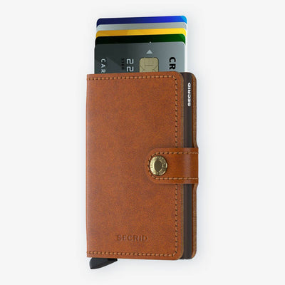 Secrid, Das Original, Mini Wallet Original Cognac-Brown