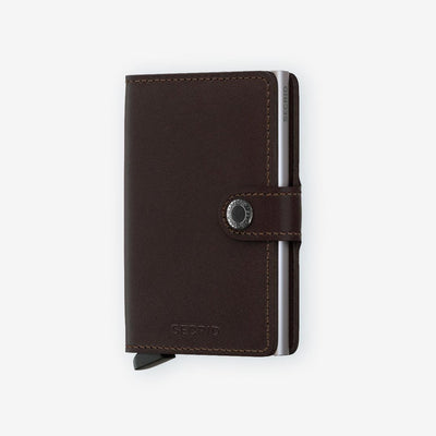 Secrid, Das Original, Mini Wallet Original Dark Brown