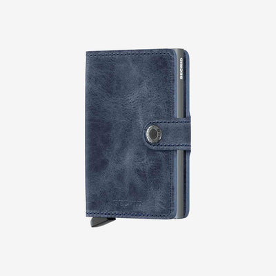 Secrid, Das Original, Mini Wallet Vintage Blau