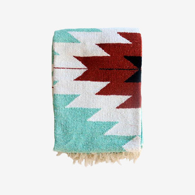 Tribe & True, Outdoordecke Campingdecke, Dos Diamantes Collection, Turquoise Mint