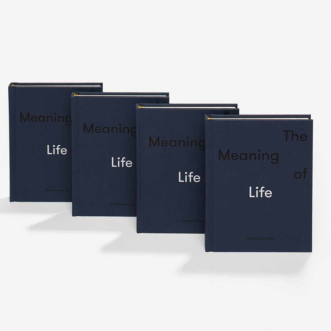 The School of Life, Buch, The meaning of life