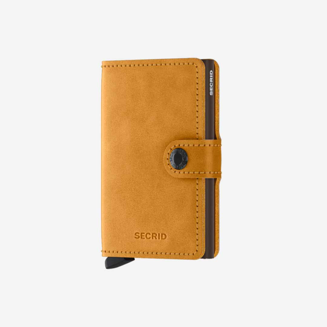 Secrid, Das Original, Mini Wallet Vintage Ochre