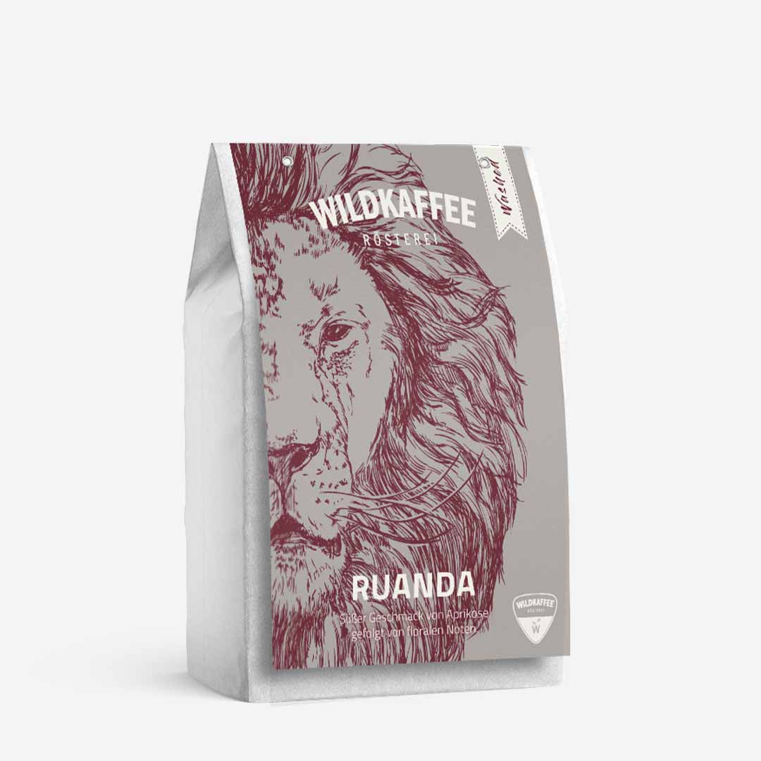 Wildkaffee Ruanda Filter - Washed ganze Bohne 250 g
