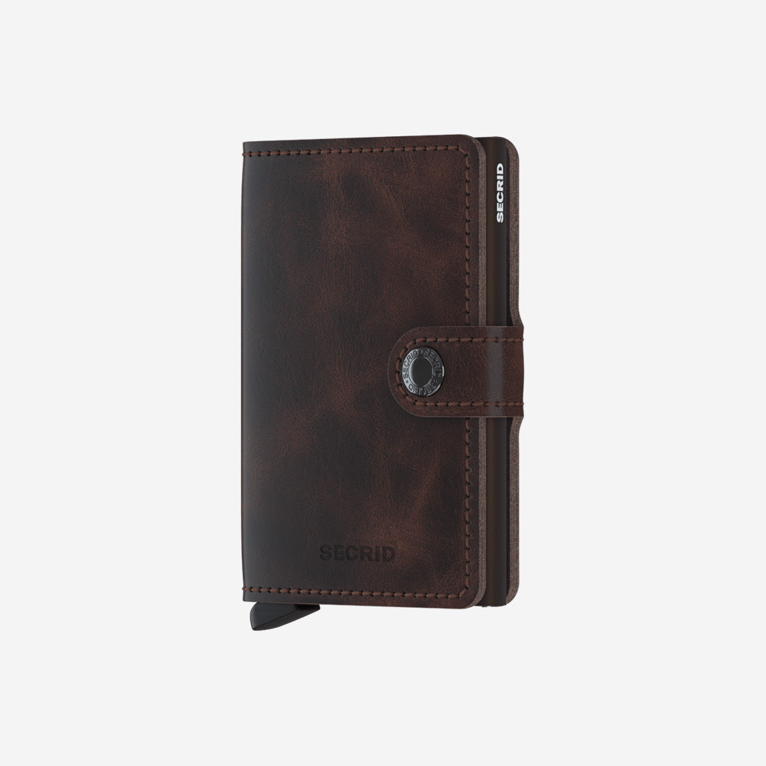 Secrid, Das Original, Mini Wallet Matte Petrol