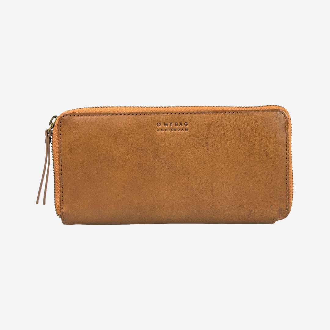 O MY BAG, Sonny Long Wallet, Damen Geldbörse, cognac braun