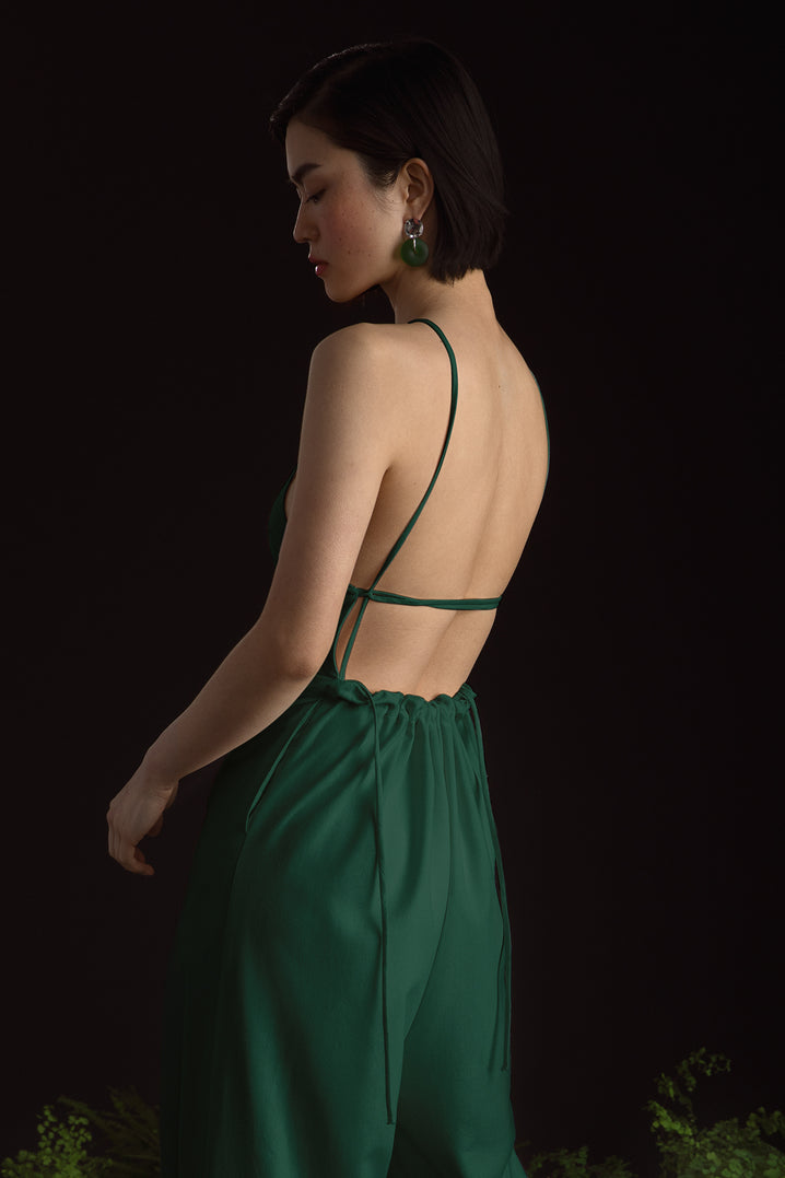 The Field Jumpsuit in Jade