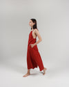 The Isla Slip Dress in Rust