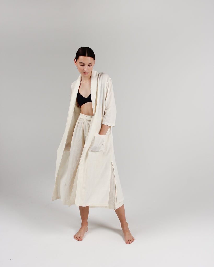 The Playa Robe in Natural