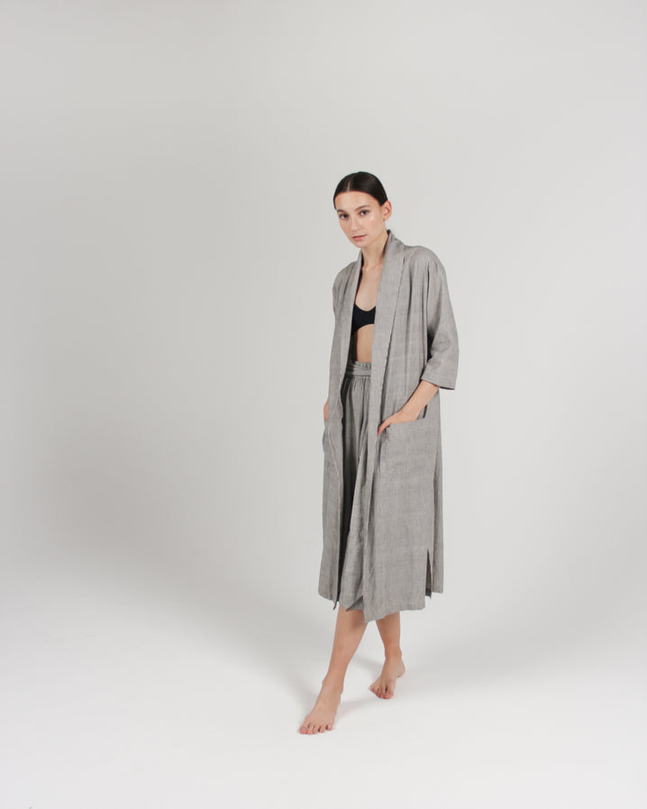 The Playa Robe in Stripe