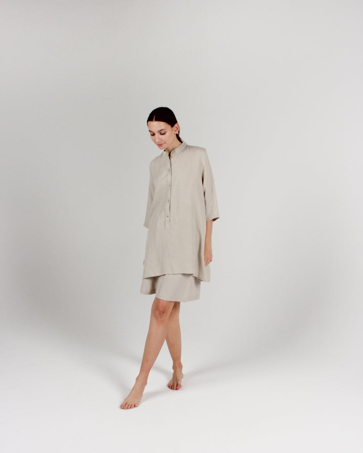 The Easy Tunic in Bone