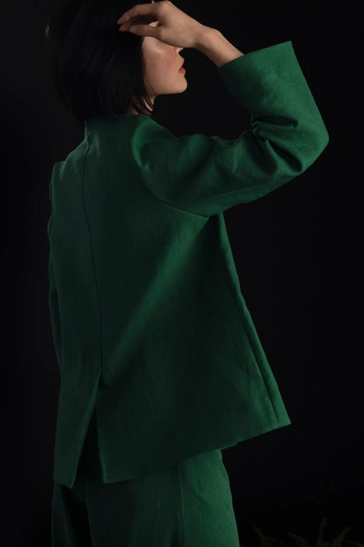 The Diplomat Jacket in Jade