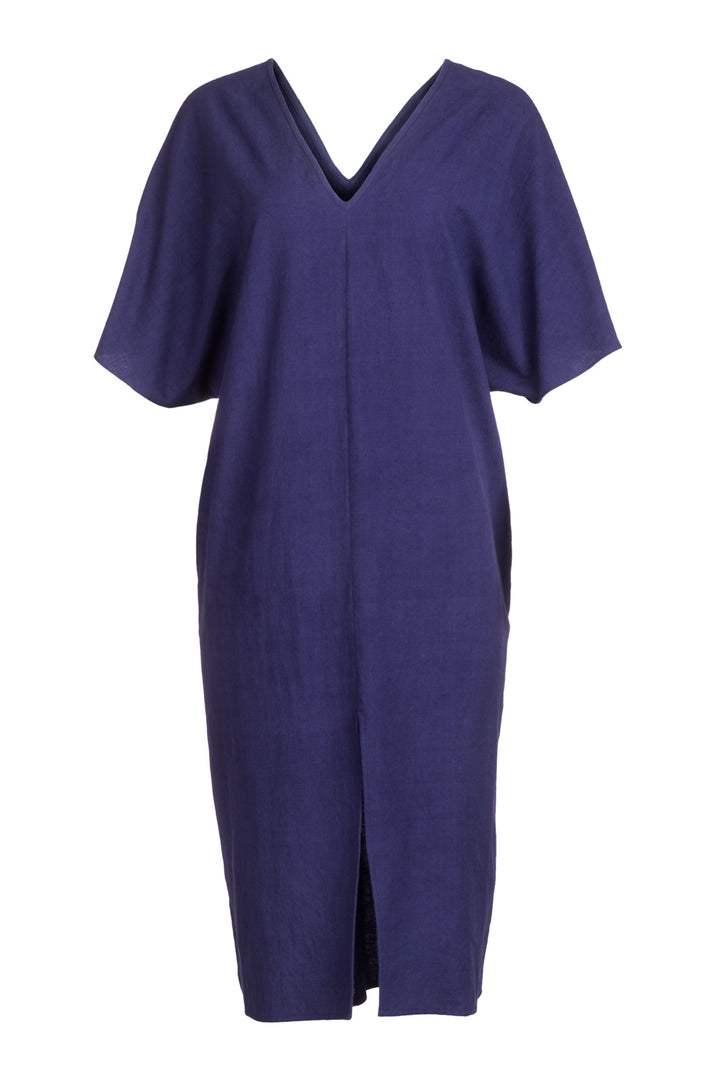 The Essential Caftan in Indigo