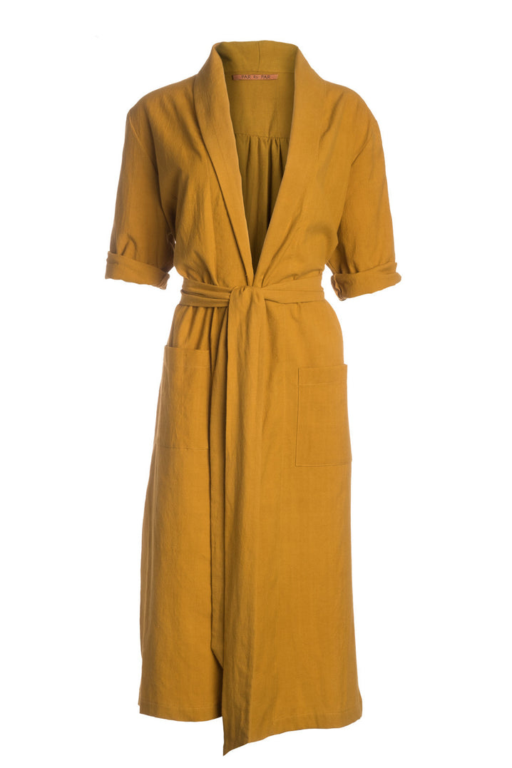 The Playa Robe in Mustard