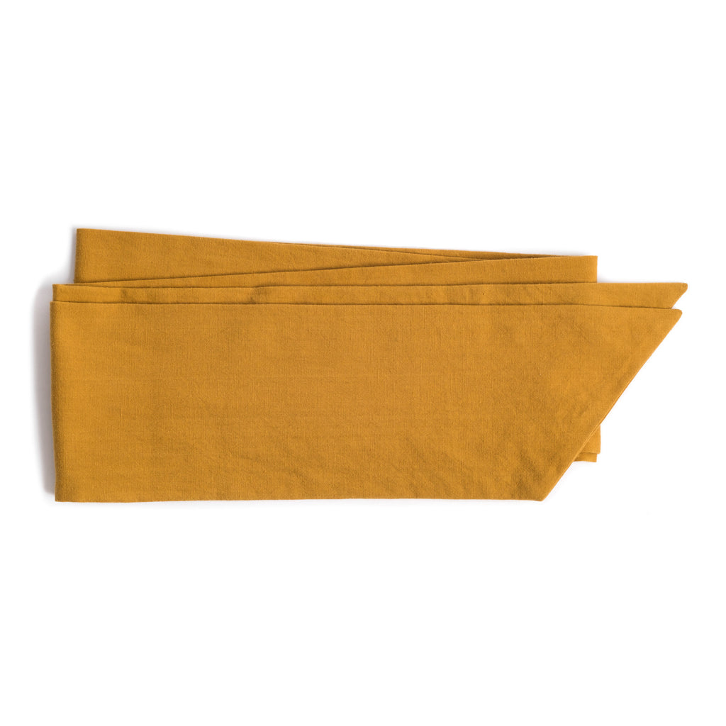 The Obi Wrap in Mustard