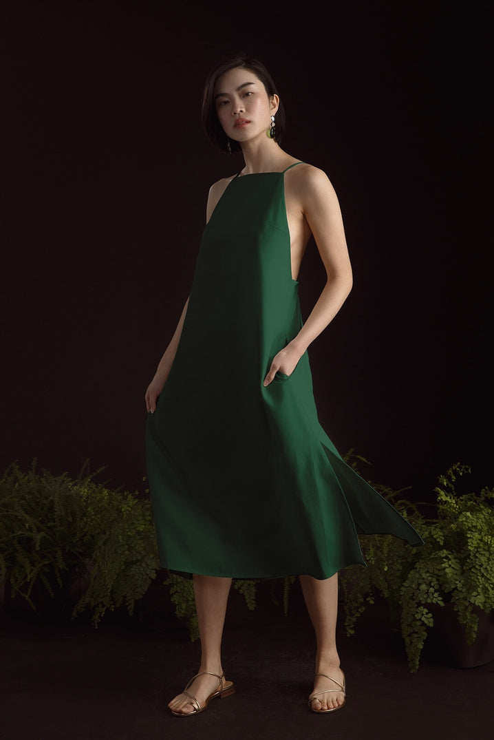 The Isla Dress in Jade