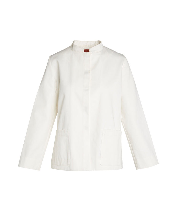 The Diplomat Jacket in White