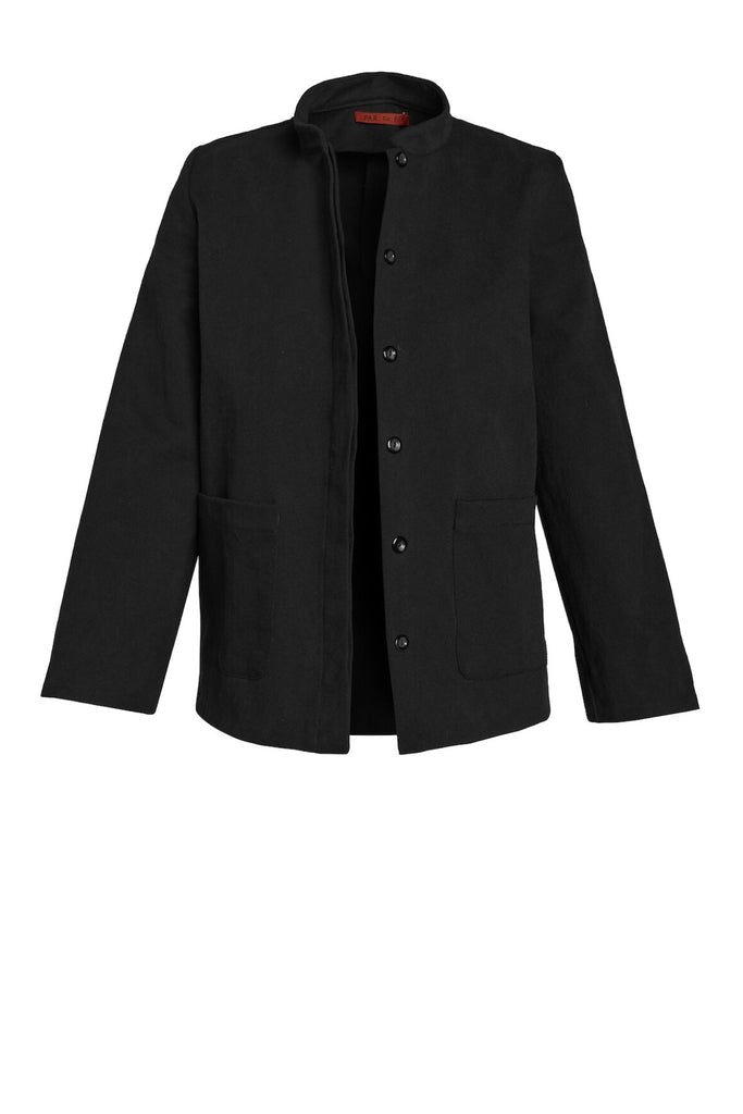 The Diplomat Jacket in Black