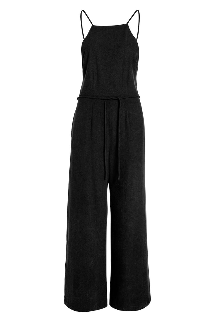 The Field Jumpsuit in Black