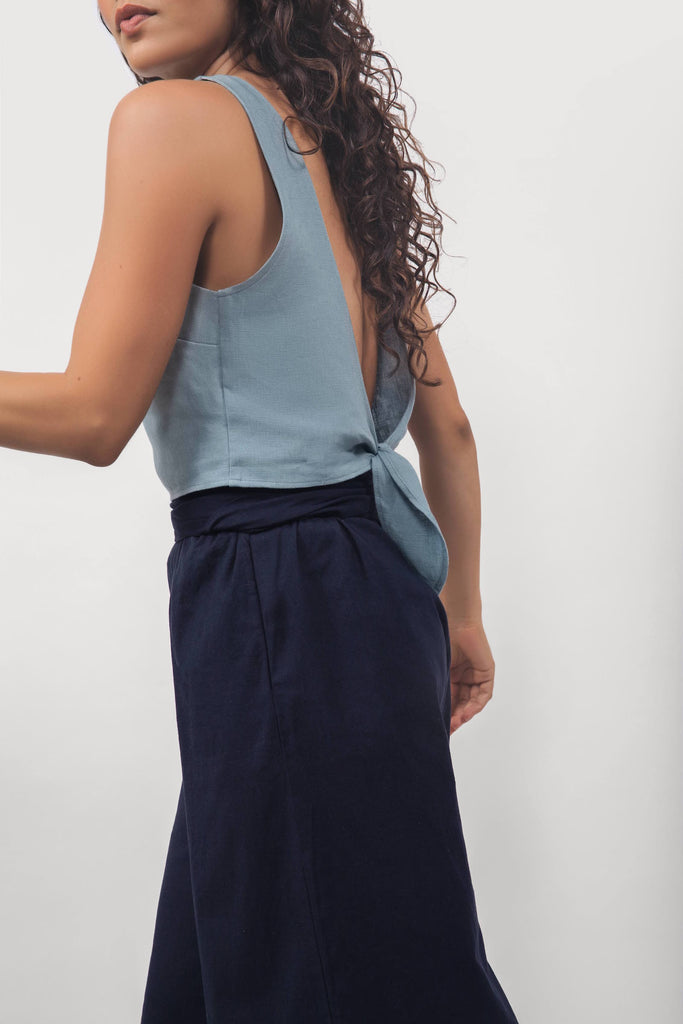The Vista Tie-Back Top