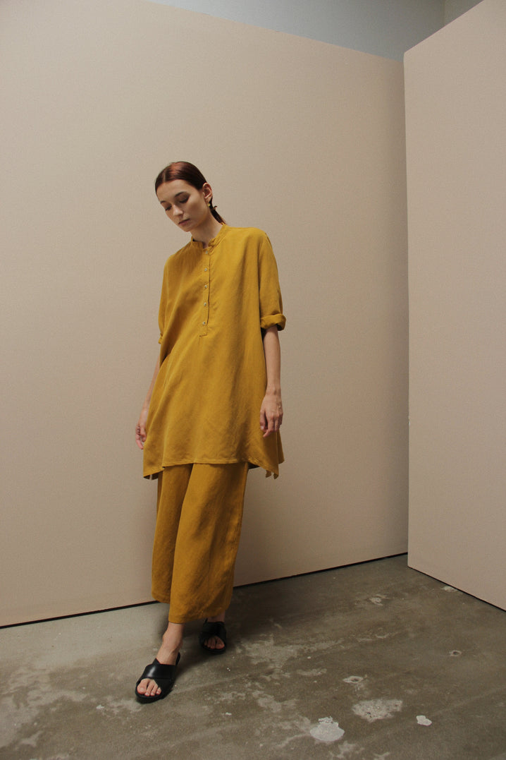 The Easy Tunic in Mustard
