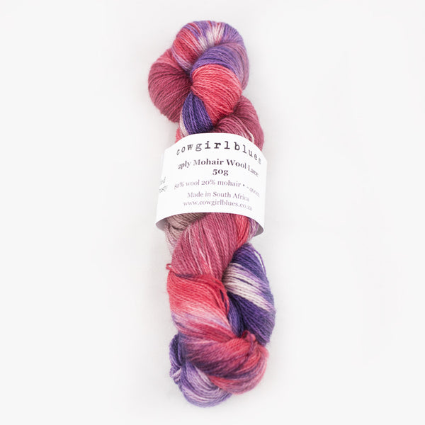 Mohair 2ply - gradient