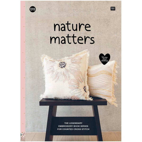 Livre 170 - Nature Matters - Broderie, punch Needle