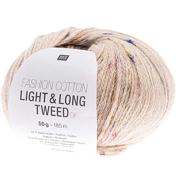Fashion Cotton - Light & Long Tweed