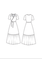 Westcliff Dress - patron papier