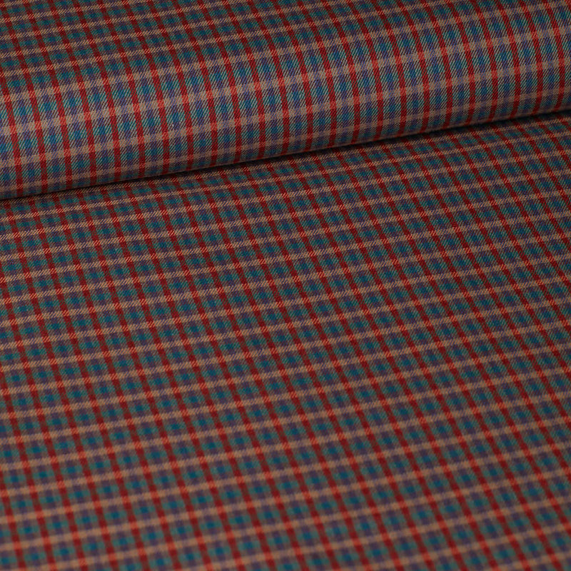 Plaid - coton/viscose