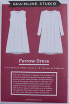 farrow dress pattern papier paper pattern