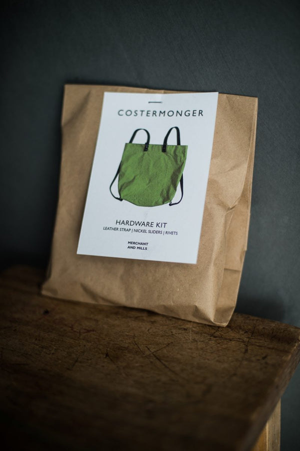 Costermonger - kit quincaillerie (nickel) + cuir