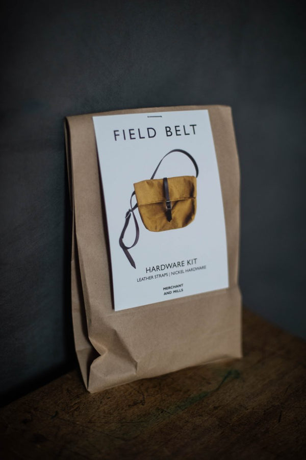 The Field Belt bag - kit quincaillerie (nickel) + cuir