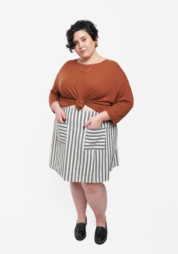 Reed Skirt - taille 14-30 - patron papier