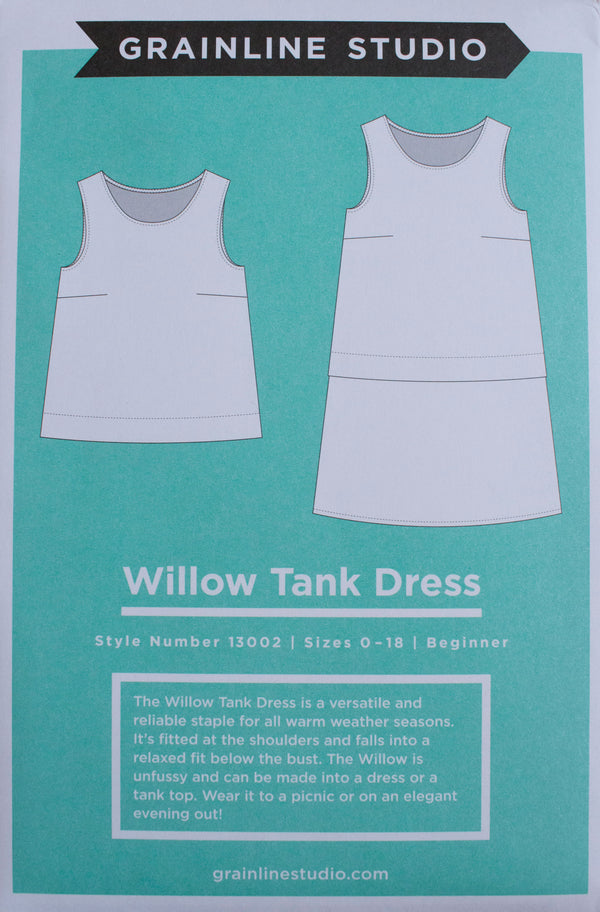 Willow Tank Dress - patron papier